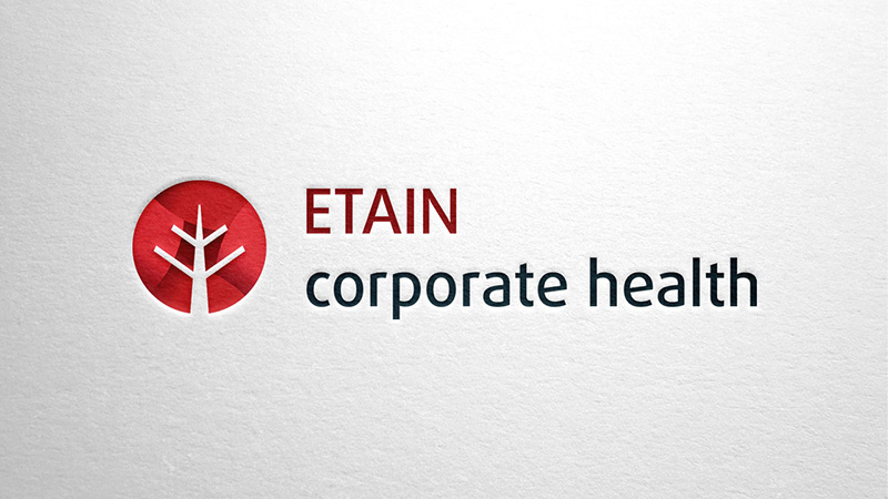 Logo für ETAIN corporate health